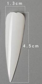 SALE Showtips Stiletto 1 maat doorzichtig 120 stuks