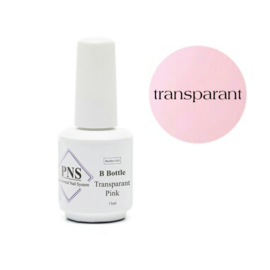 PNS B Bottle Transparant Pink