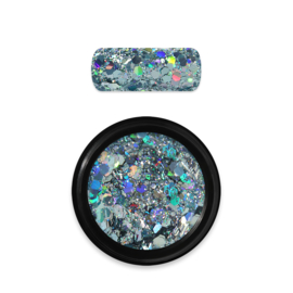 Moyra Rainbow Holo Glitter Mix 9 light blue