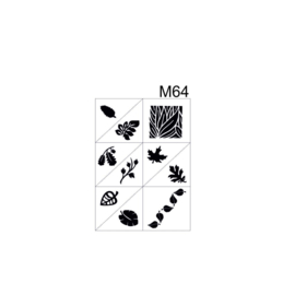 PNS Airbrush Stencil Sjablonen M64