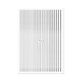 Moyra Nail Art Strips 02 Silver