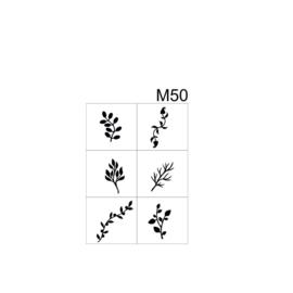 PNS Airbrush Stencil Sjablonen M50