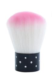 PNS Manicure Stof Borstel Roze