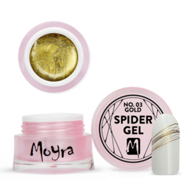 Moyra Spider Gel No.3 gold