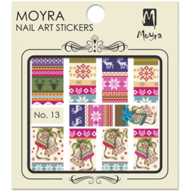 Moyra Nail Art Sticker Watertransfer No.13