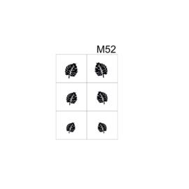 PNS Airbrush Stencil Sjablonen M52