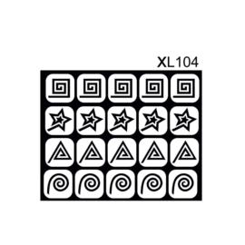 PNS Airbrush Stencil Sjablonen XL104