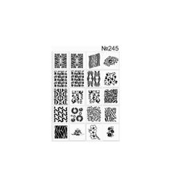 PNS Airbrush Stencil Sjablonen XL245