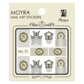 Moyra Nail Art Sticker Watertransfer No.31