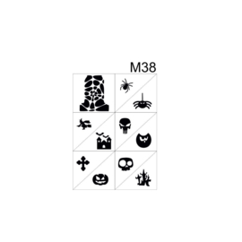 PNS Airbrush Stencil Sjablonen M38