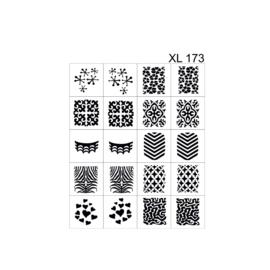 PNS Airbrush Stencil Sjablonen XL173