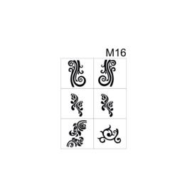 PNS Airbrush Stencil Sjablonen M16