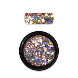 Moyra Rainbow Holo Glitter Mix No.2 Gold