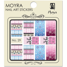 Moyra Nail Art Sticker Watertransfer No.29