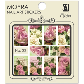 Moyra Nail Art Sticker Watertransfer No.22
