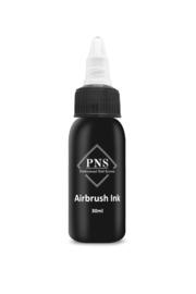 PNS Airbrush Ink zwart 30ml