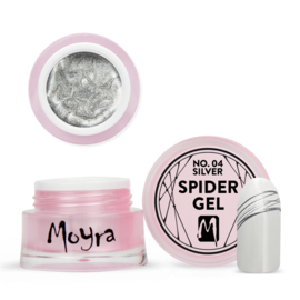 Moyra Spider Gel No.4 silver