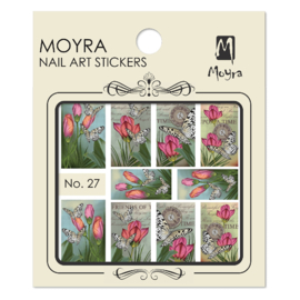 Moyra Nail Art Sticker Watertransfer No.27