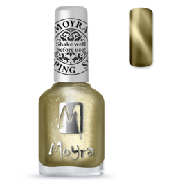 Moyra Stamping Nail Polish sp31 cateye goud
