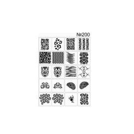 PNS Airbrush Stencil Sjablonen XL200