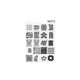 PNS Airbrush Stencil Sjablonen XL213