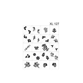 PNS Airbrush Stencil Sjablonen XL127