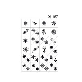 PNS Airbrush Stencil Sjablonen XL157
