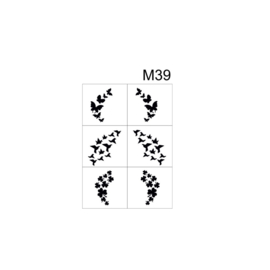 PNS Airbrush Stencil Sjablonen M39