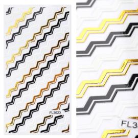 Kerst Flex Stickers FL3023