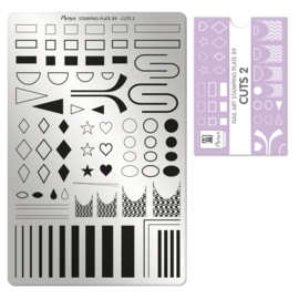 Moyra Stamping Plate 89 Cuts 2