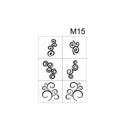 PNS Airbrush Stencil Sjablonen M15