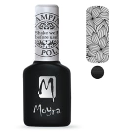 Moyra Stamping Gel Polish sgp01 Black