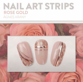 Moyra Nail Art Strips 03 Rose Gold