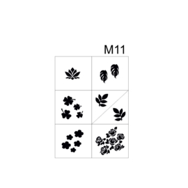PNS Airbrush Stencil Sjablonen M11