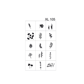 PNS Airbrush Stencil Sjablonen XL105