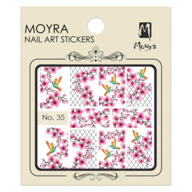Moyra Nail Art Sticker Watertransfer No.35