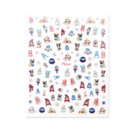 Moyra Matrica Sticker No.14