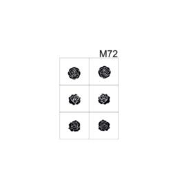 PNS Airbrush Stencil Sjablonen M72