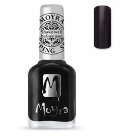 Moyra Stamping Nail Polish sp06 black