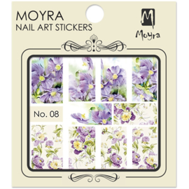 Moyra Nail Art Sticker Watertransfer No.08