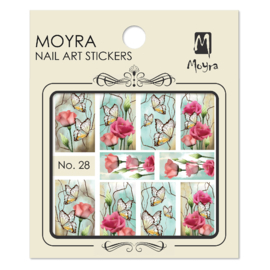 Moyra Nail Art Sticker Watertransfer No.28