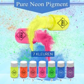PNS Pure Neon Pigment Set No. 1 t/m 7