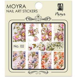 Moyra Nail Art Sticker Watertransfer No.02