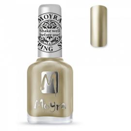 Moyra Stamping Nail Polish sp24 chrome gold