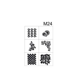 PNS Airbrush Stencil Sjablonen M24