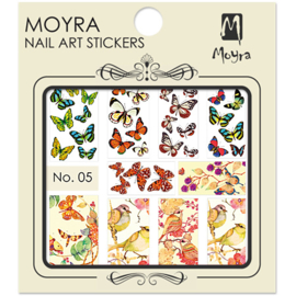 Moyra Nail Art Sticker Watertransfer No.05