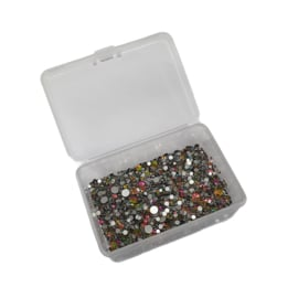 PNS Rhinestone Mix Rainbow in opvangbakje