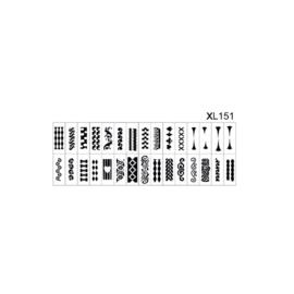 PNS Airbrush Stencil Sjablonen XL151