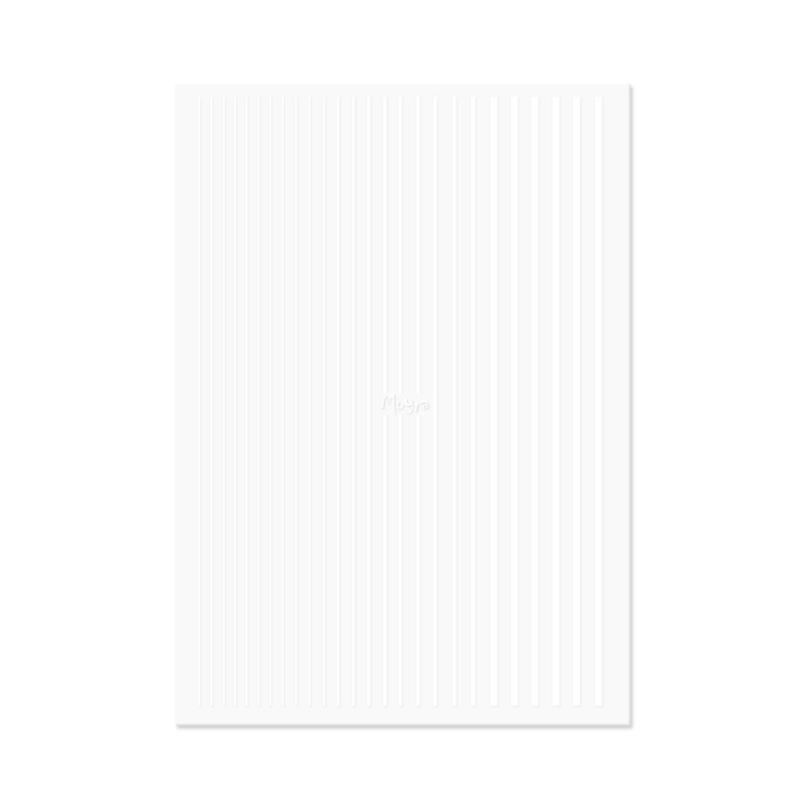 Moyra Nail Art Strips 04 White