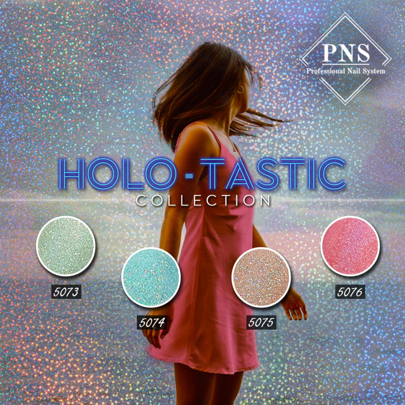 PNS Holo-Tastic Collection 5073 t/m 5077